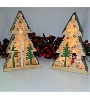 Árbol de diseños navideños...