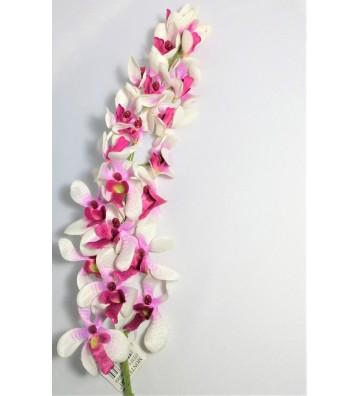 Orquídea blanca artificial