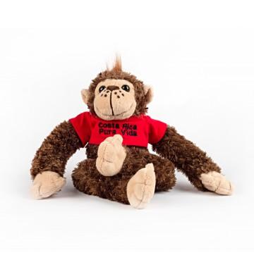 Mono de peluche con...