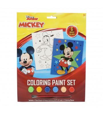 Set de Mickey para pintar