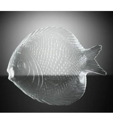 Plato pequeño en forma de pez