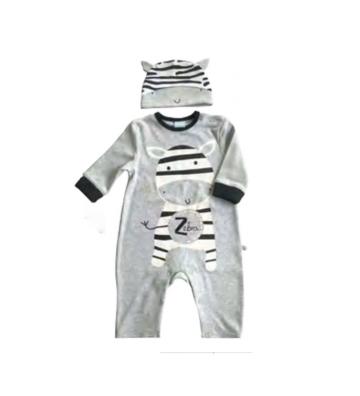 Pijama Kobytin gris de...