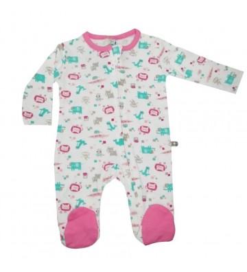 Pijama larga Kobytin rosada...
