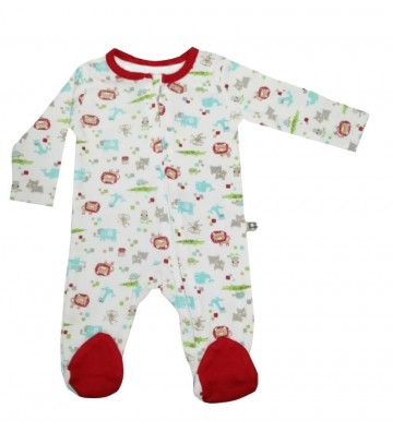Pijama larga Kobytin roja...