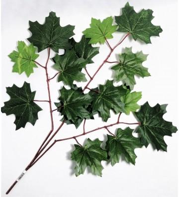 Rama artificial de hojas...