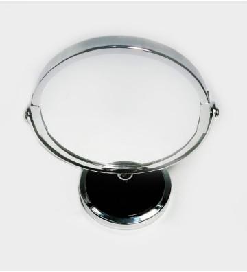 Espejo de mesa de dos lados