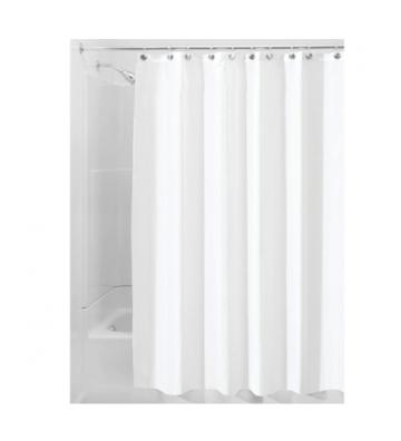Cortina de baño blanca Home...