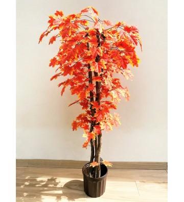 Árbol artificial Maple Rojo