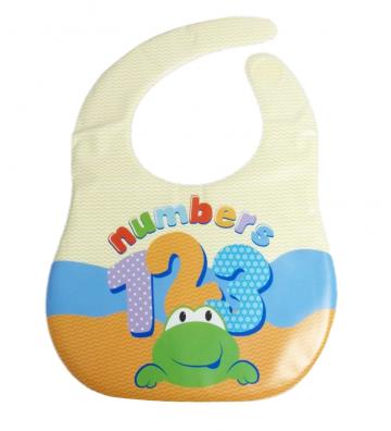 Babero para bebé de números