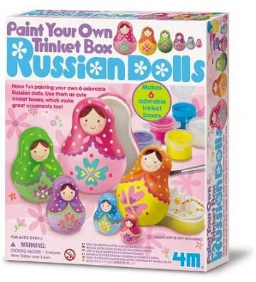 Muñecas Rusas para pintar