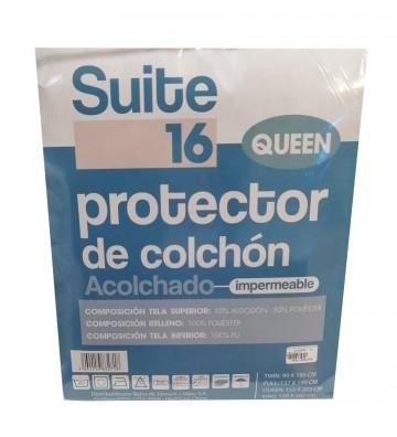Protector de colchón Queen...